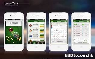 Lottery Ticket 乐透彩 .hk  Mobile phone,Portable communications device,Iphone,Smartphone,Product