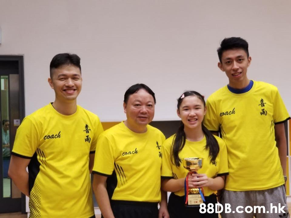 喜 雨 pa 喜 coach coa .hk  Yellow,Team,T-shirt,