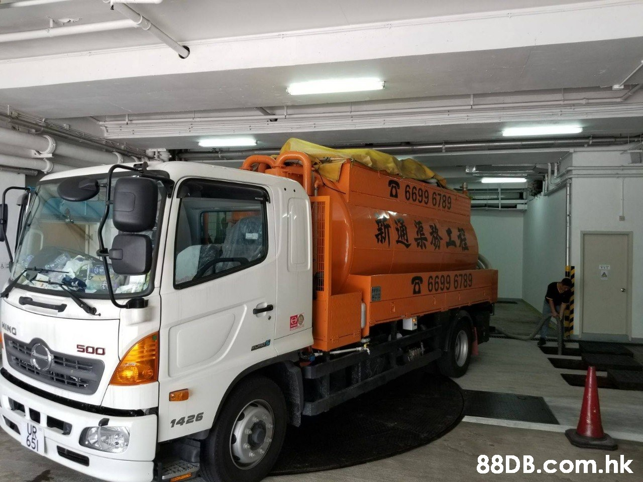 6699 6789 斯通渠務工程 6699 6789 SOO 1426 .hk  Land vehicle,Vehicle,Transport,Truck,Commercial vehicle