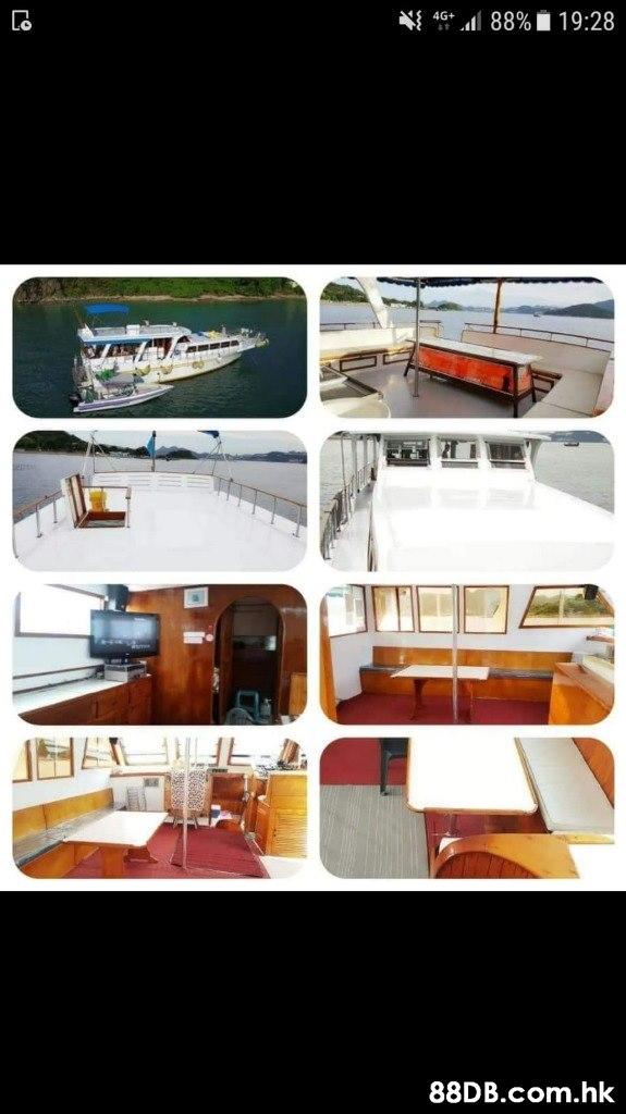 4G+ 46l 88%19:28 .hk  Transport,Vehicle,Yacht,Luxury yacht,Boat