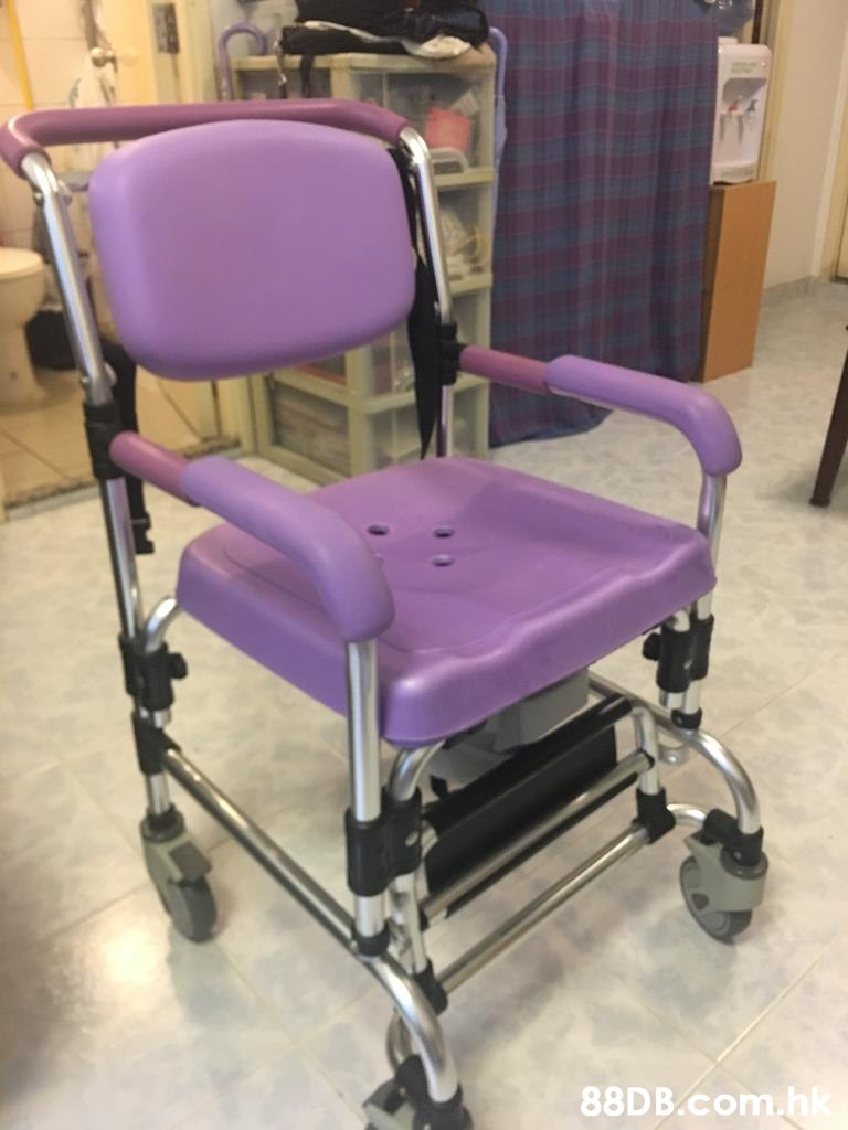 .hk  Chair,Medical equipment,Product,Purple,Furniture