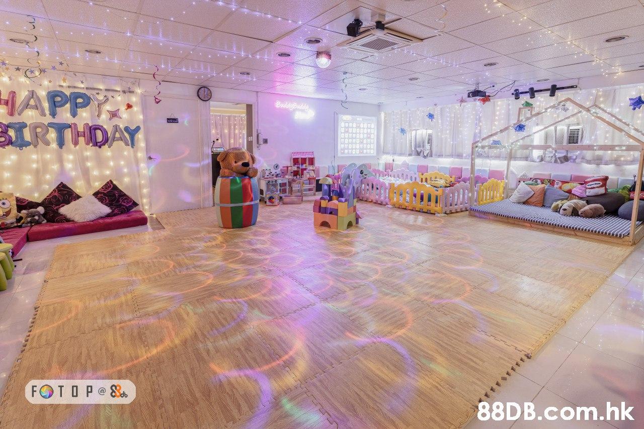 HAPP BIRTHDAY BuddyBudd FOT OP @ S .hk t  Property,Lobby,Floor,Interior design,Flooring