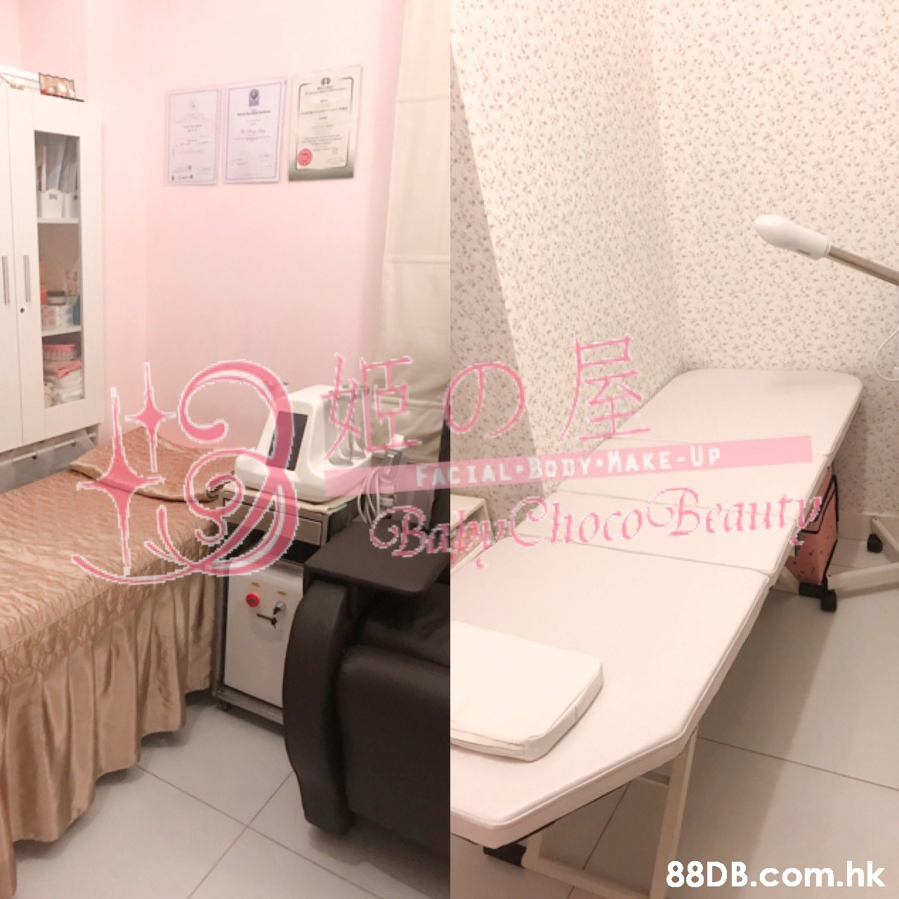 FACIAL BODY MAKE-UP GBacn hoco Beaut .hk  Property,Room,Pink,Product,Furniture