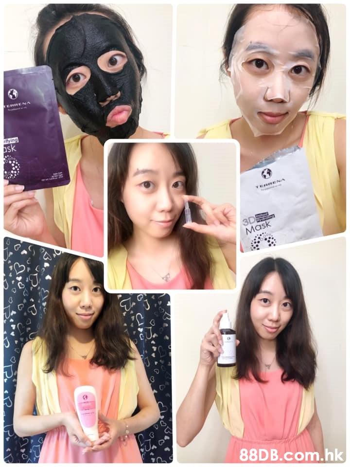 TERRENA ritying ask TERRENA 3D Mask mstond Hrdrotim .hk  Face,Hair,Skin,Nose,Eyebrow