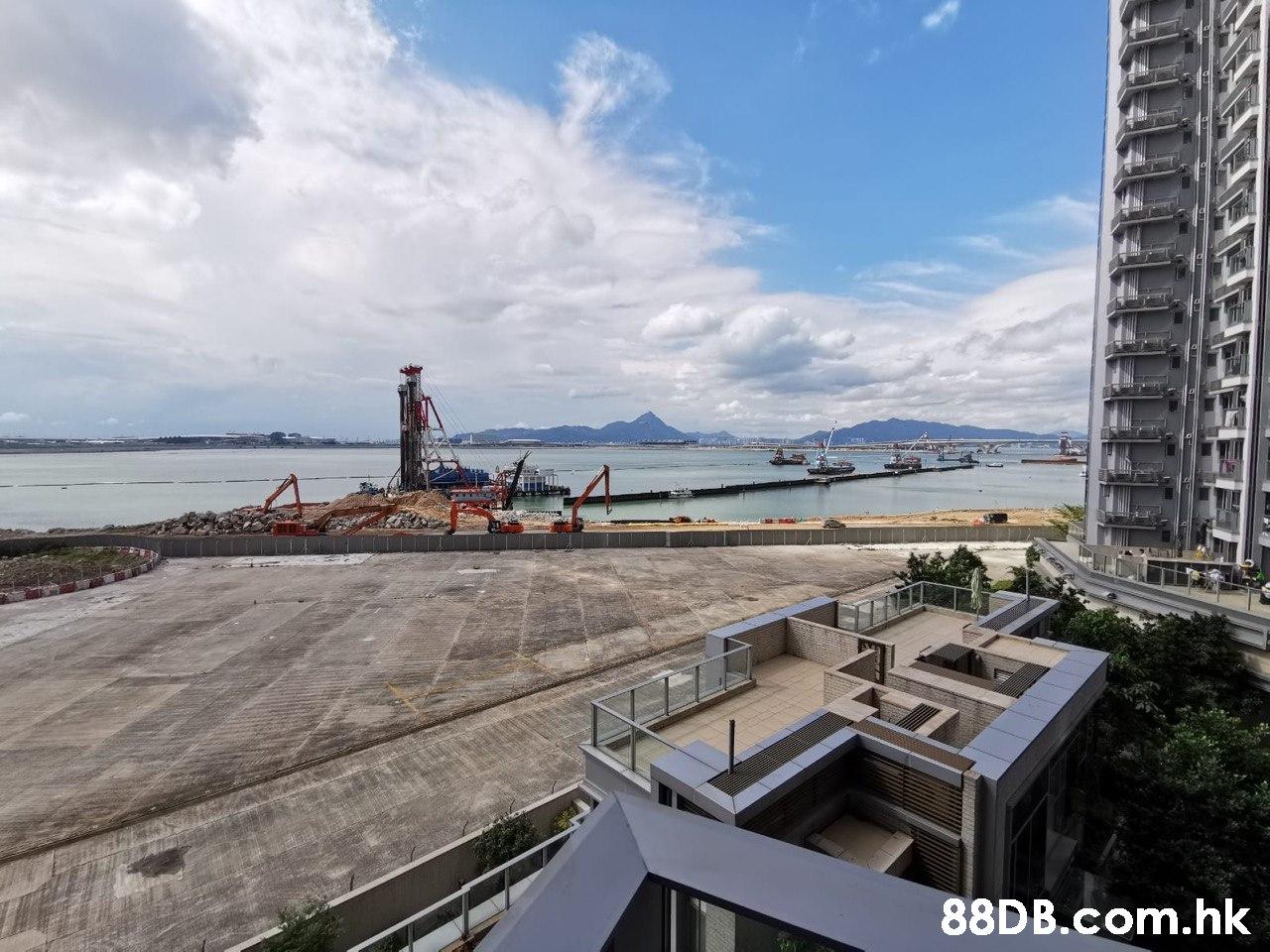 .hk  Sky,Ocean,Sea,Cloud,Architecture
