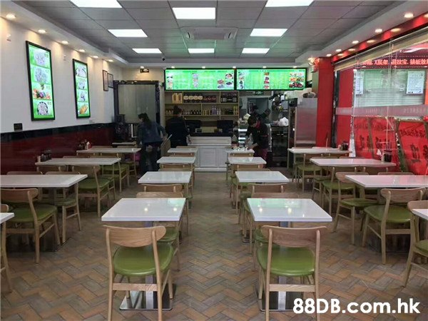 wwww MMER X .hk を441  Restaurant,Building,Room,Cafeteria,Food court