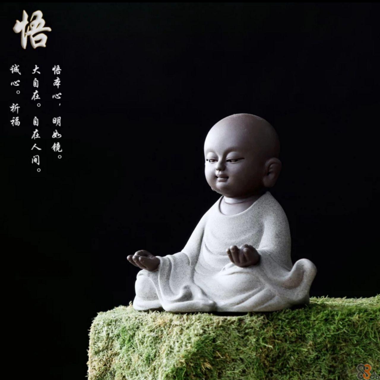 「大自在。 在人间。 O  Meditation,Statue,Sculpture,Child,