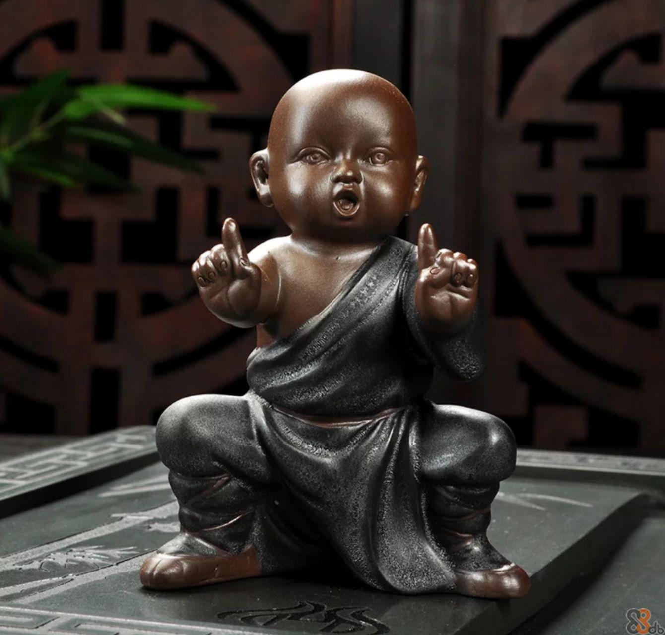 Statue,Sculpture,Figurine,Sitting,Monk