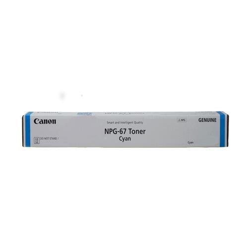 www GENUINE Canon Snart and nteiget Ouaity NPG-67 Toner Cyan pO NOT STAND A  Technology,Electronic device,Font,