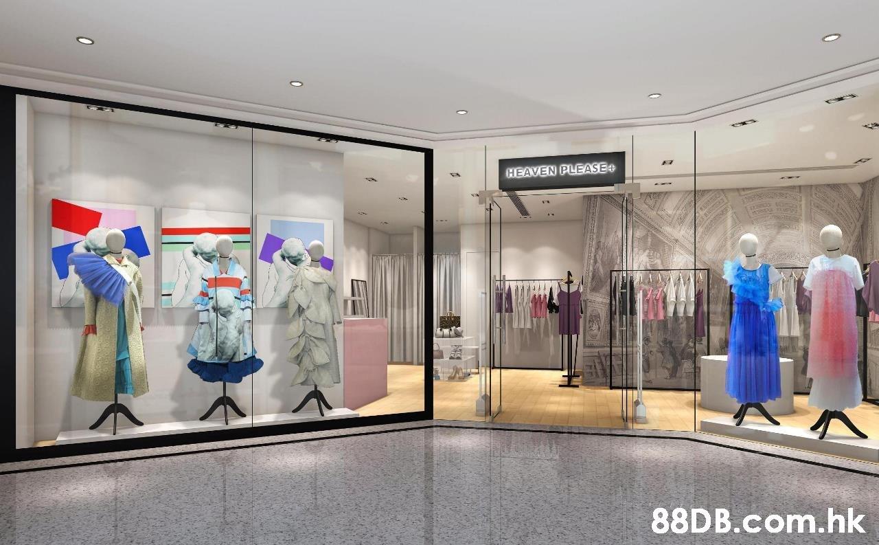 HEAVEN PLEASE+ .hk  Boutique,Building,Interior design,Ceiling,Room