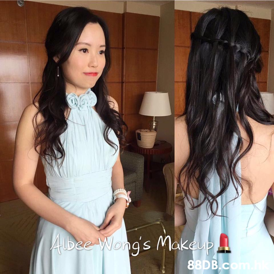 AUbee Wong's Makeup   Hair,Hairstyle,Clothing,Long hair,Black hair