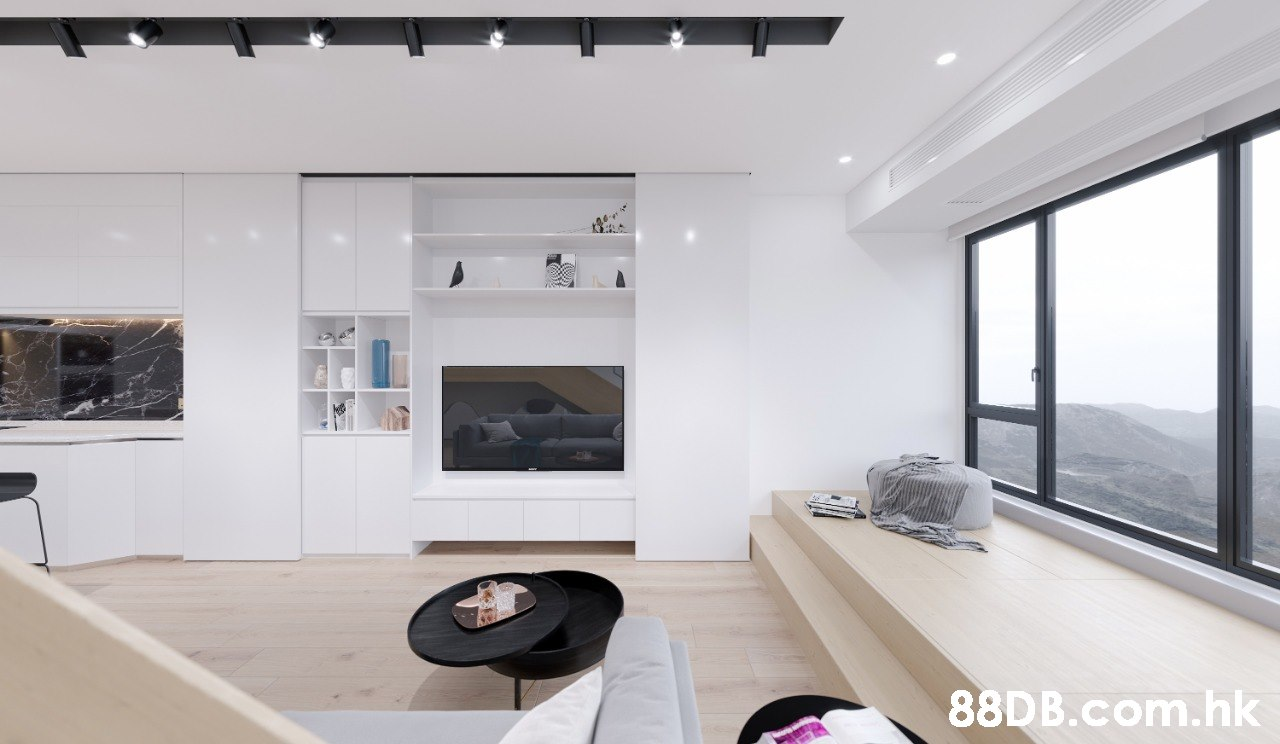 .hk  Room,White,Interior design,Property,Living room