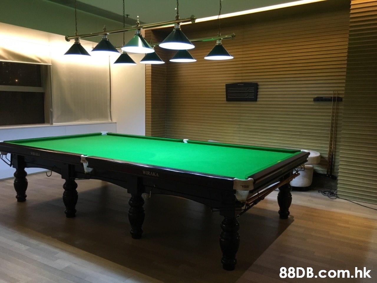 WIRAKA .hk  Billiard room,Billiards,Billiard table,Indoor games and sports,Pool