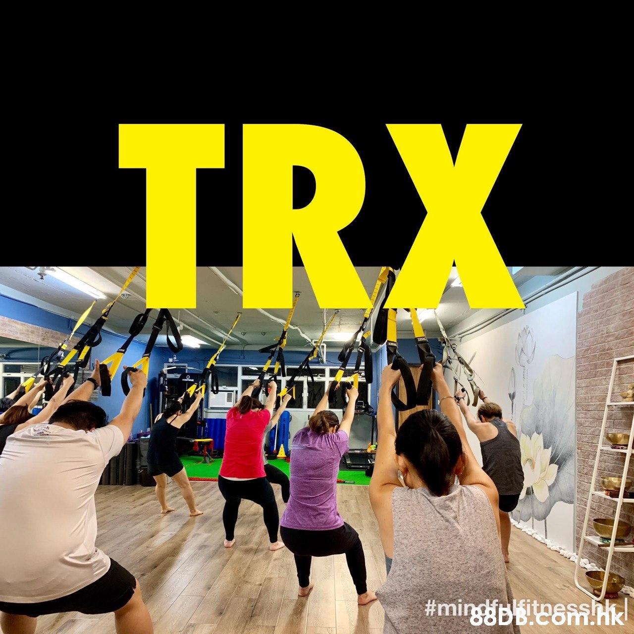 TRX #mingbeem  Yellow,Fun,Event,Crowd,Leisure