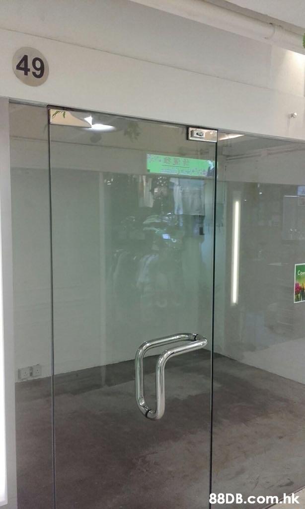 49 .hk  Glass,Wall,Door,Tile,Room