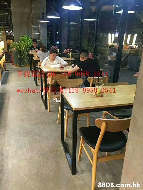 手提 9.959 25 wechat/ 159 9959 2541 .hk  Table,Restaurant,Cafeteria,Food court,Furniture