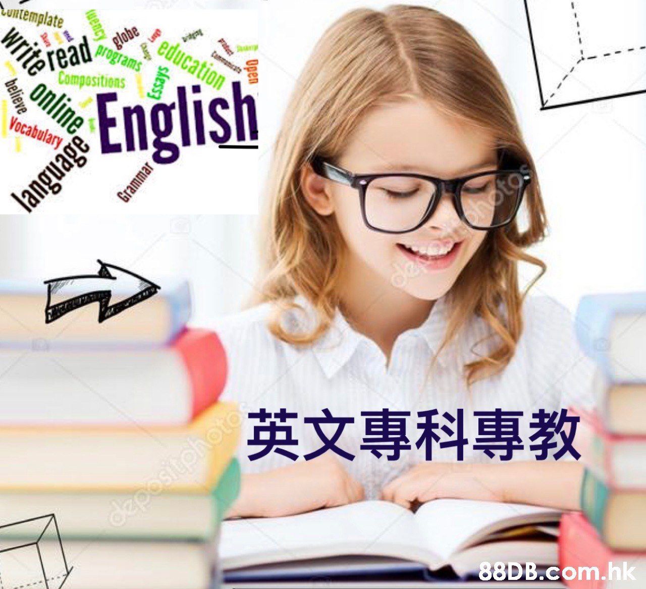 untemplate read globe Compositions programs catio Commact English Vocabulary guage desabohotos 英文專科專教 hote depositphoto. .hk Open uency Essays write online ima  Glasses,Eyewear,Cartoon,Font,Learning