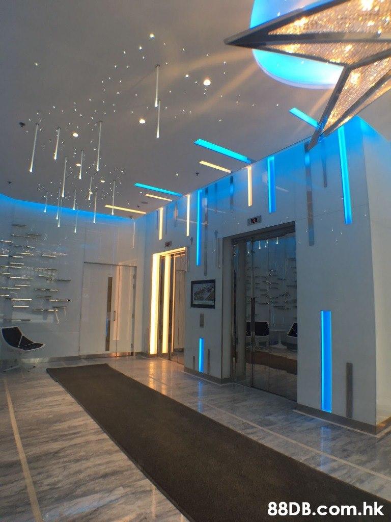 .hk  Lobby,Ceiling,Blue,Light,Architecture