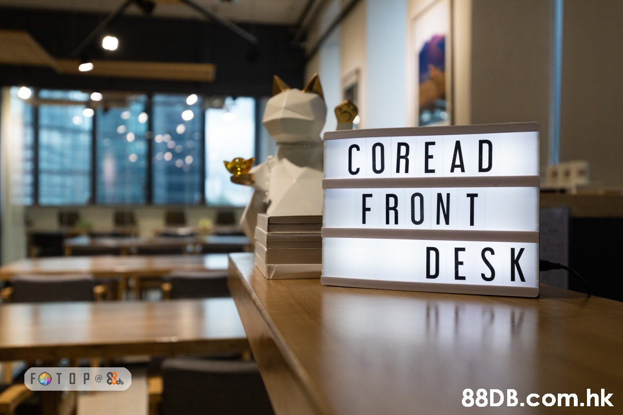 COREAD FRONT DESK FOTOP @& .hk  Room,Interior design,Restaurant,