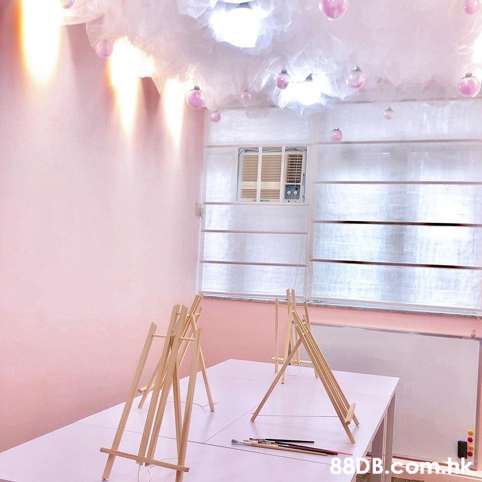 .bk  Pink,Furniture,Room,Ceiling,Interior design