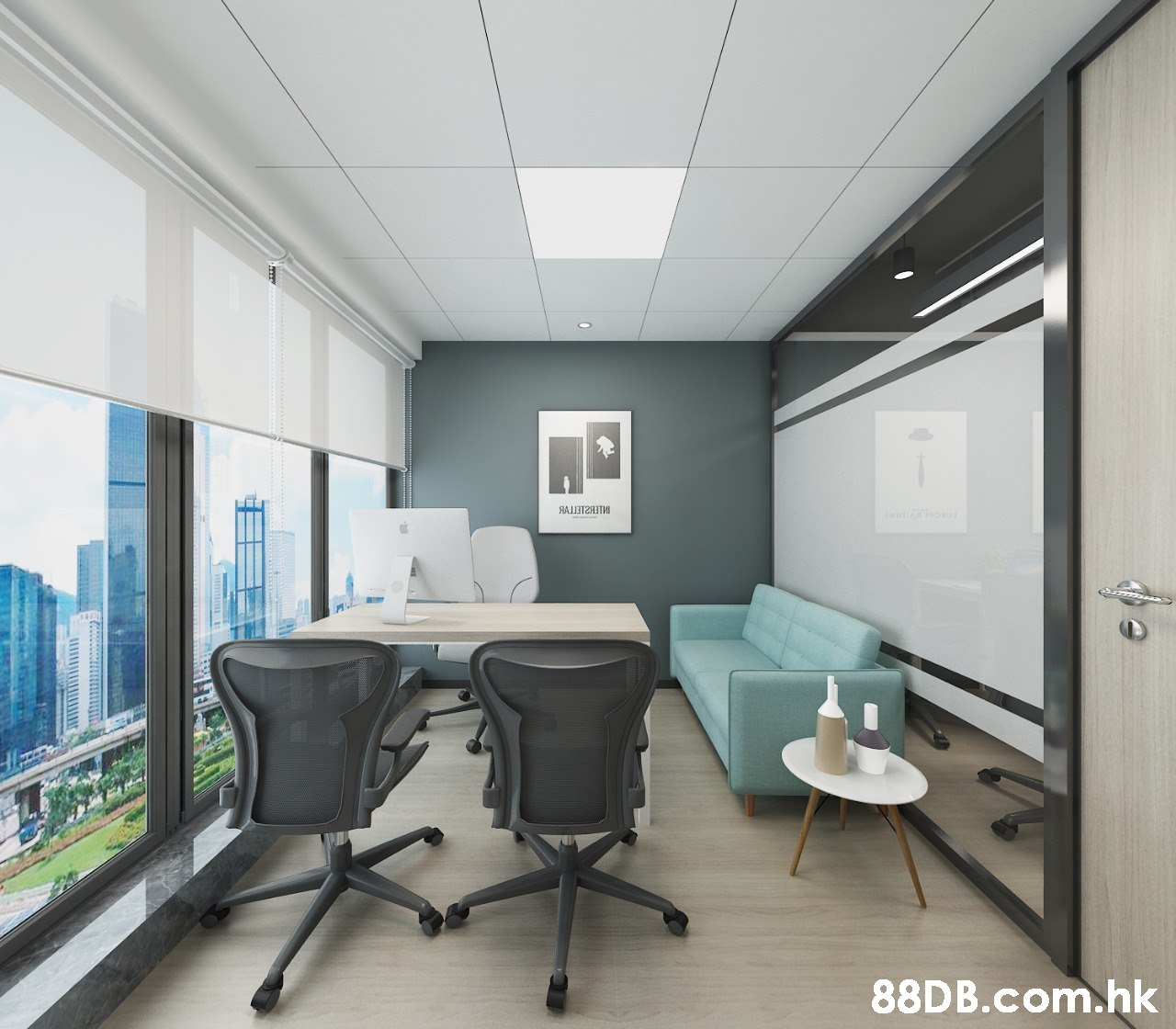 RAIT2T .hk  Office chair,Office,Ceiling,Interior design,Room