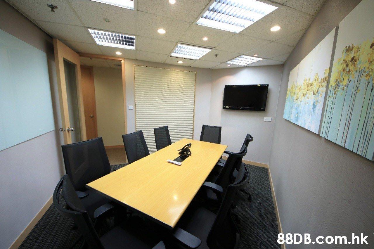 .hk  Office,Room,Building,Interior design,Conference hall