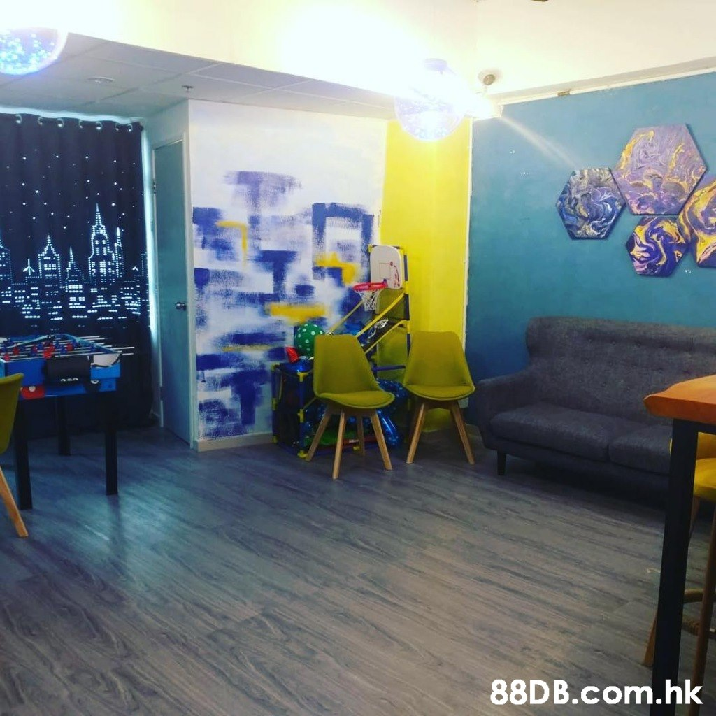 .hk  Interior design,Property,Room,Floor,Yellow