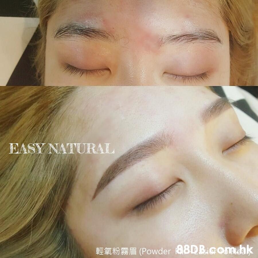 EASY NATURAL Powder 8DBiaom.dak  Face,Eyebrow,Nose,Forehead,Cheek