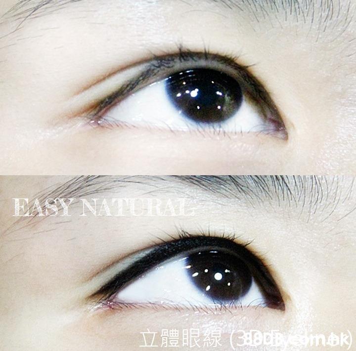 EASY NATURAL 1RR(3DDEeomak  Eyebrow,Eyelash,Face,Eye,Organ