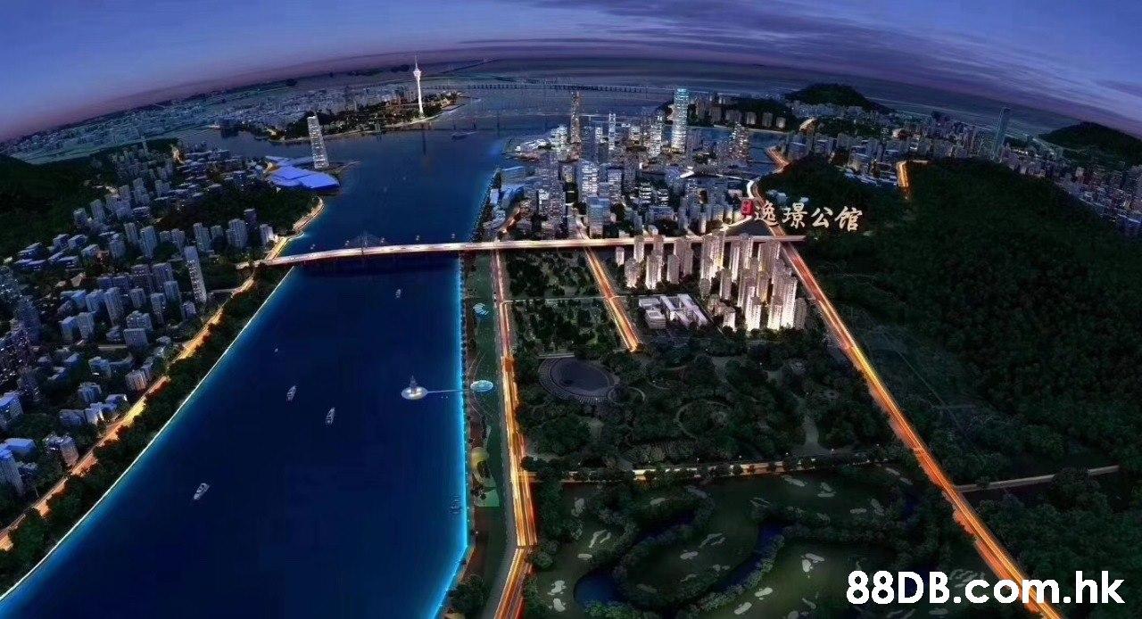 逸環公馆 88DB.Com.hk  Aerial photography,Metropolitan area,Bird's-eye view,City,Urban area