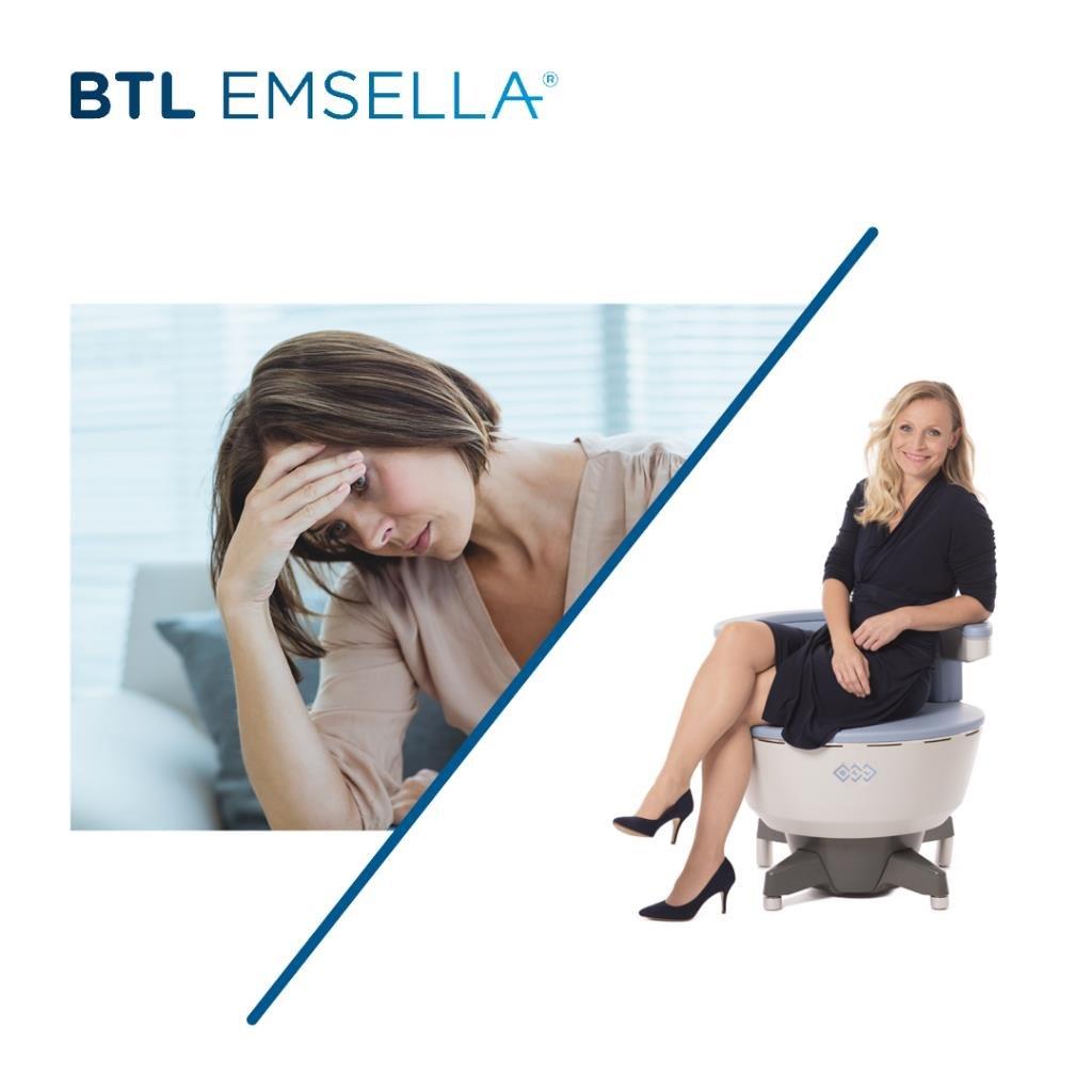 BTL EMSELLA  Product,Skin,Sitting,Leg,Design