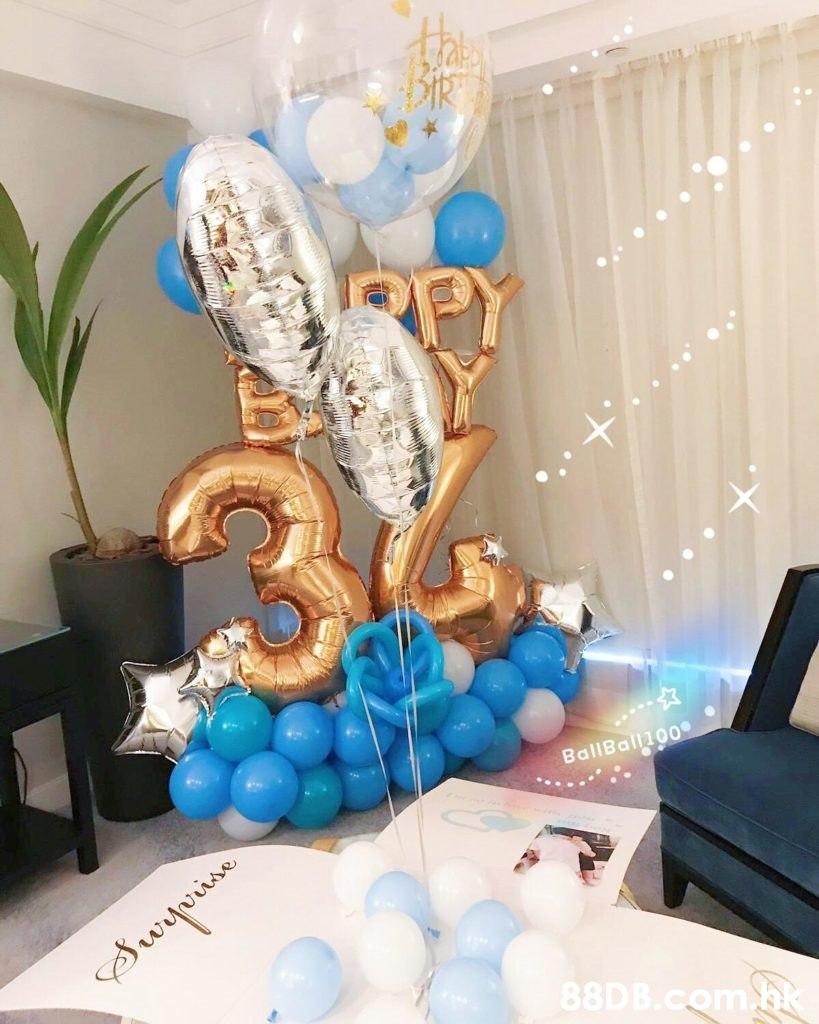 L BallBall100 .bk  Balloon,Room,Party supply,Interior design,