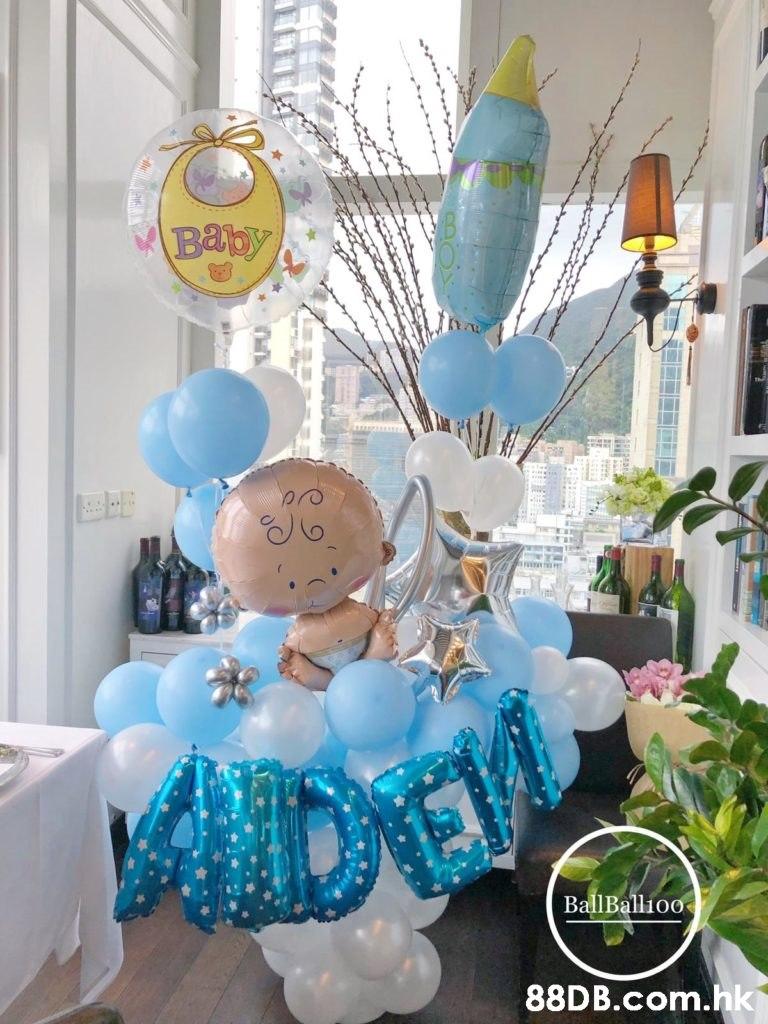 Bapy BallBallioo .hk  Blue,Turquoise,Balloon,Party,Room