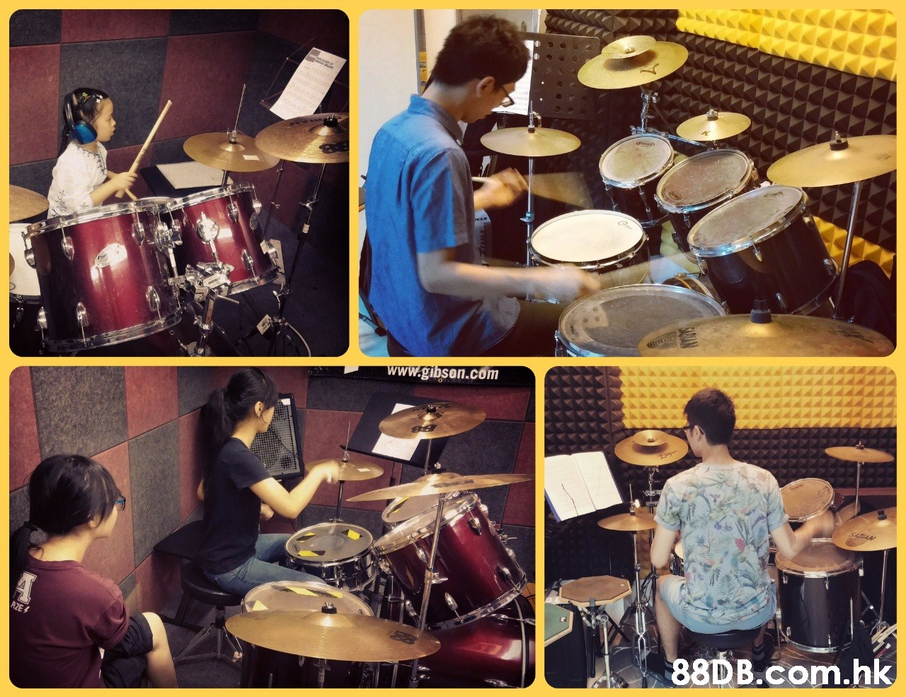 www.gibson.com AZE& .hk  Drum,Drums,Drummer,Musical instrument,Percussionist