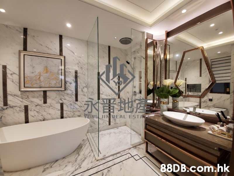 UNE JIN REAL ESTA .hk  Bathroom,Property,Room,Interior design,Bathtub