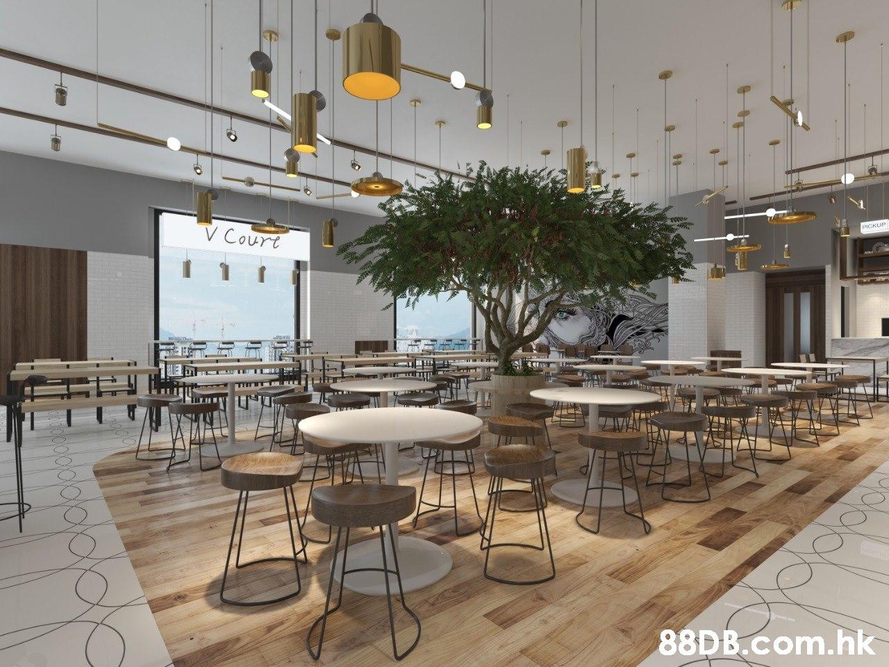 V Court .hk  Interior design,Room,Furniture,Building,Table