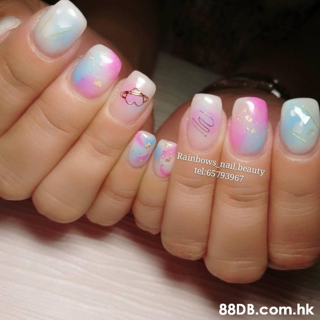 Rainbows_nail.beauty tel:65793967 .hk  Nail polish,Nail,Nail care,Manicure,Finger