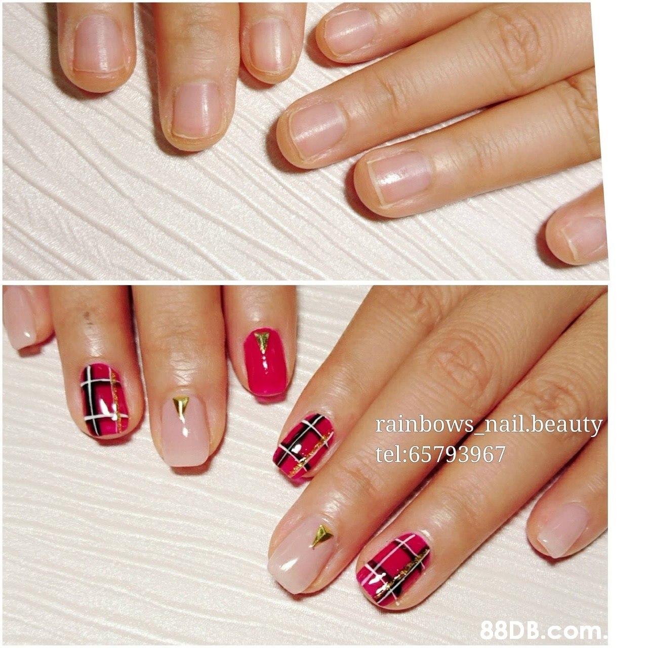 rainbows nail.beauty tel:65793967 .  Nail polish,Manicure,Nail,Nail care,Finger