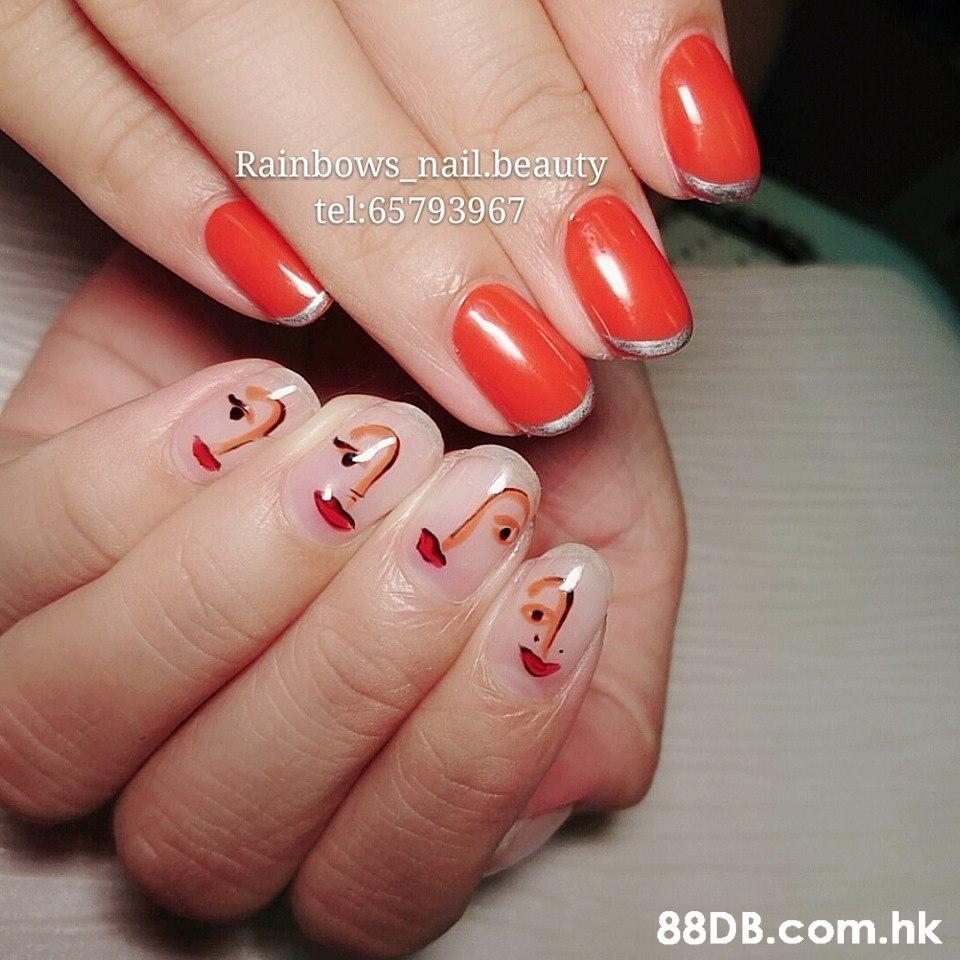 Rainbows_nail.beauty tel:65793967 .hk  Manicure,Nail,Nail polish,Nail care,Finger