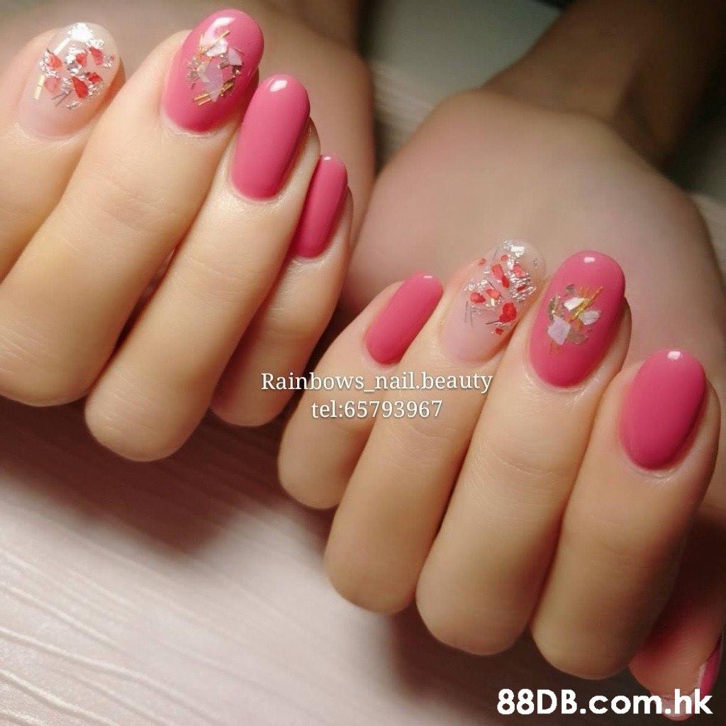 Rainbows_nail.beauty tel:65793967 .hk  Nail polish,Nail,Nail care,Manicure,Pink