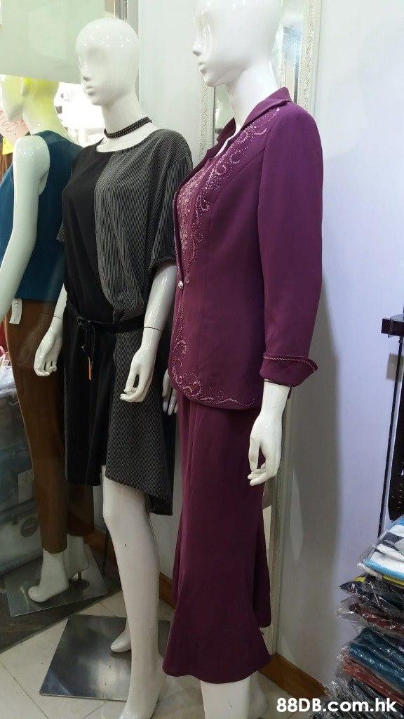 .hk  Mannequin,Clothing,Dress,Purple,Boutique