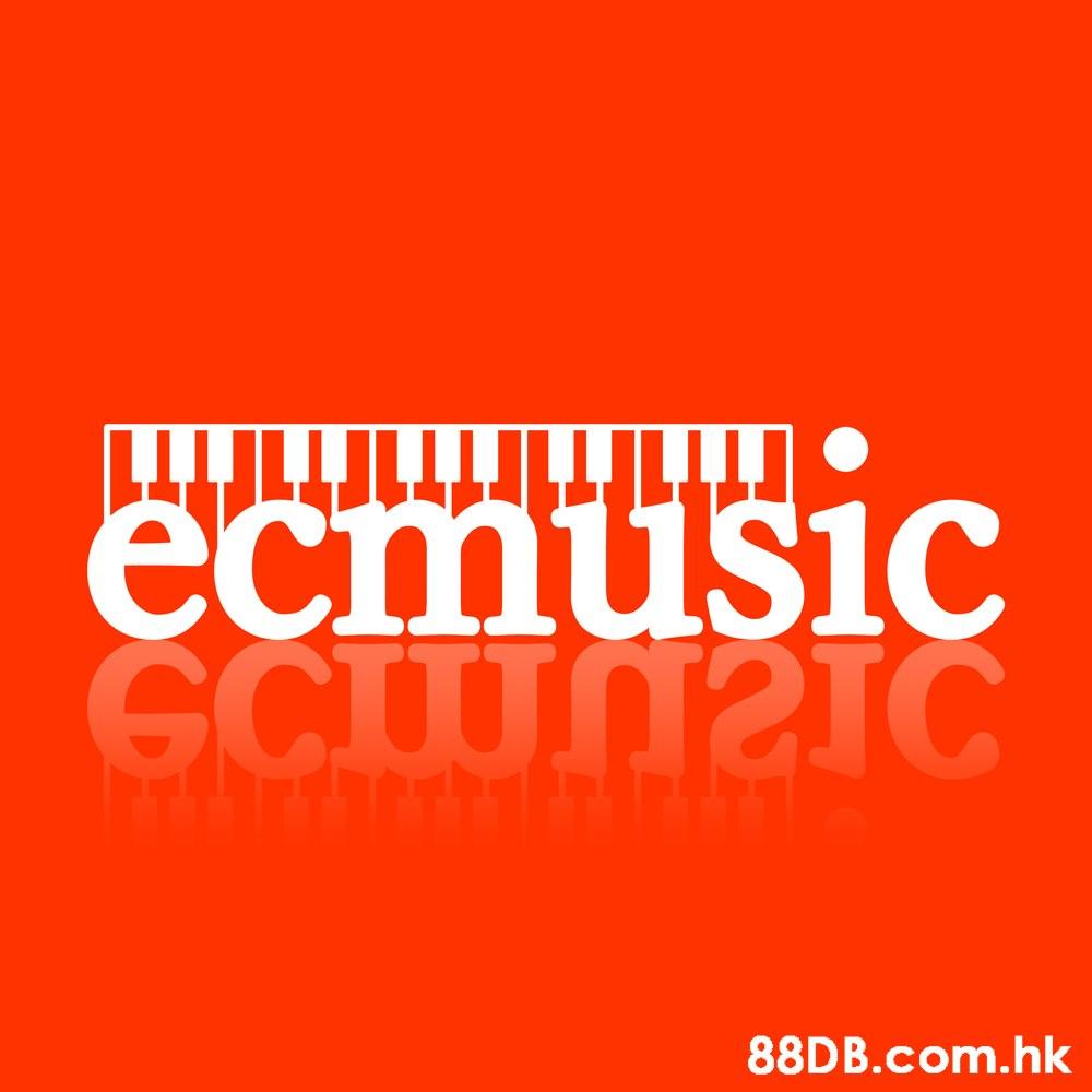 T1HTrTr1 ecmusic GCIUNSS .hk  Text,Font,Orange,Logo,Brand