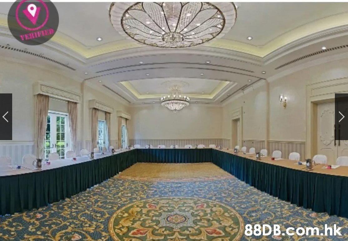 YERIFIED .hk  Building,Property,Function hall,Ceiling,Interior design