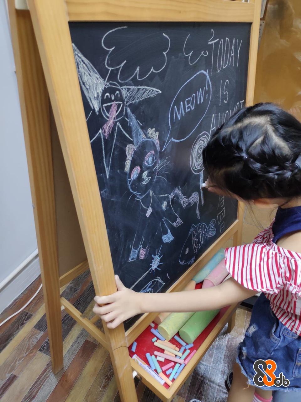 MEDWA  Blackboard,Easel,Office supplies,Chalk,Visual arts