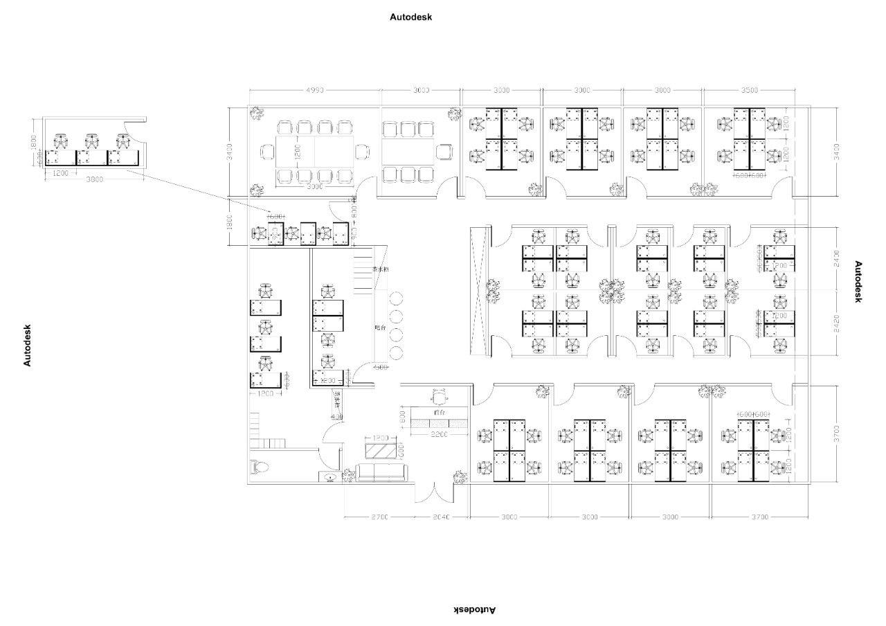 Autodesk 4990 3000 3000 3000 500 1200 3800 吧台 -1200 t600t600 22cc 270C 204C 3000 3000 3700 Autodesk Autodesk 0000 Autodesk  Text,Diagram,Floor plan,Line,Font