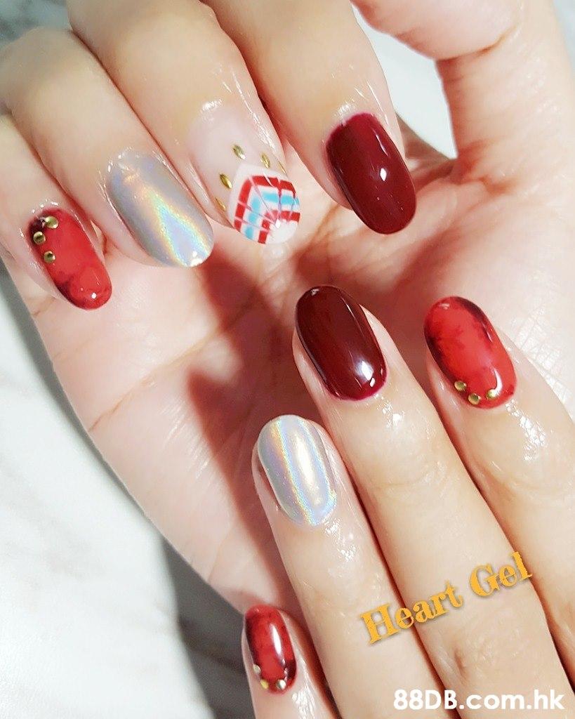Heart Gel .hk  Nail polish,Manicure,Nail,Nail care,Finger
