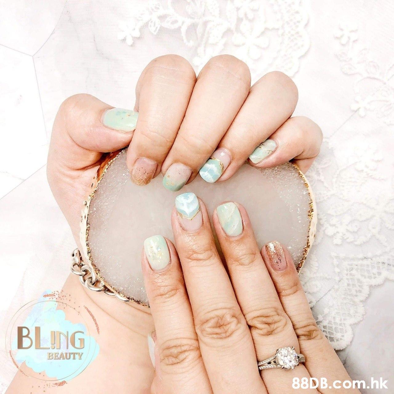 BLING BEAUTY .hk  Nail,Manicure,Nail care,Finger,Skin