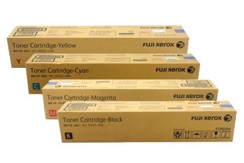 FUJI Xerox Toner Cartridge-Yellow Toner Cartridge-Cyan ww as FUJI Xerox C Toner Cartridge Magenta FUJI Xerox M Toner Cartridge-Black FUJI Xerox craez2 K  Product,Box,Magenta,Carton,