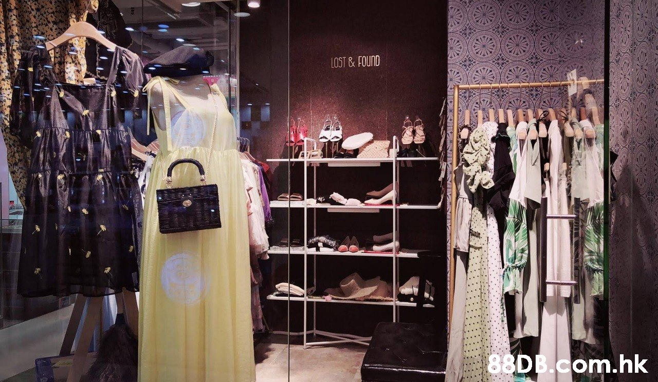 LOST & FOUND .hk  Boutique,Clothing,Dress,Retail,Fashion