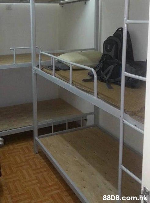 .hk  Bunk bed,Furniture,Shelf,Room,Hostel